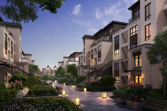 荣盛城:有一种奢侈叫,我家住在公园里