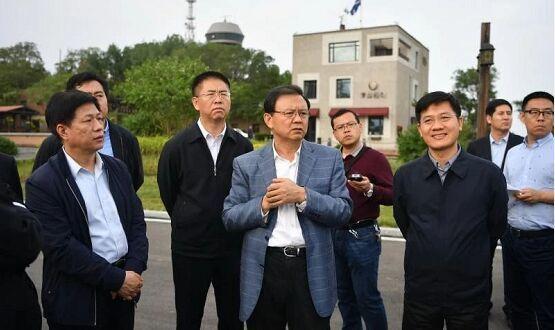 张古江在秦皇岛市调研园博会和城市规划设计大赛