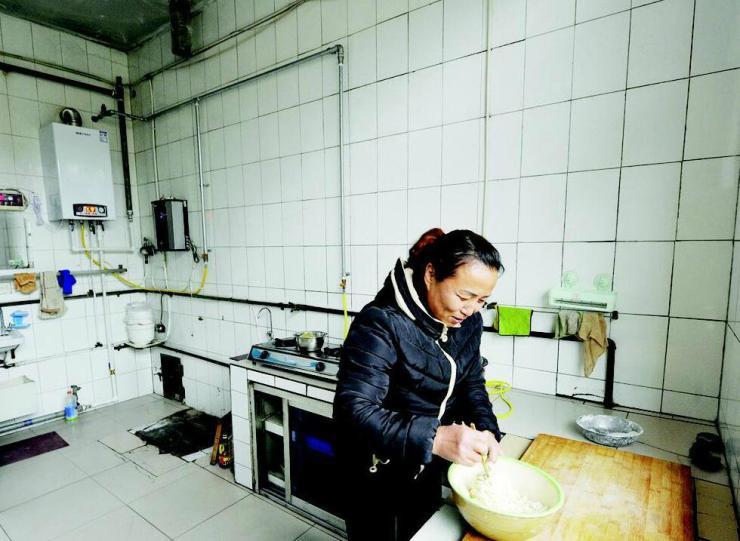 告别散煤做饭取暖 小店西温庄薛店社区实现煤改气