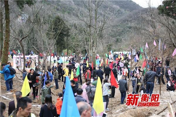 """芳华现场起舞助力南岳景区""""我在寿岳有棵树""""活动"""