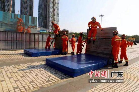 """增城区""""119""""消防宣传日实战演练精彩纷呈"""