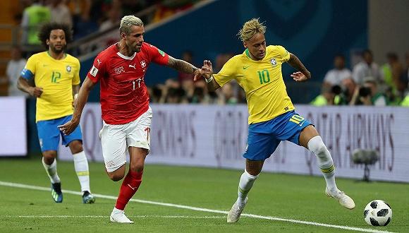 库蒂尼奥破门难阻冷门之夜 角球失分巴西1比1平瑞士