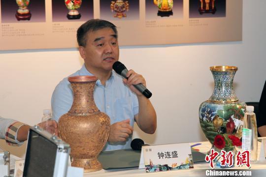 108道工序成就国礼景泰蓝 600年间未走出中国皇宫