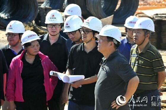中国工程院院士崔愷考察指导南宁国际园博园建设