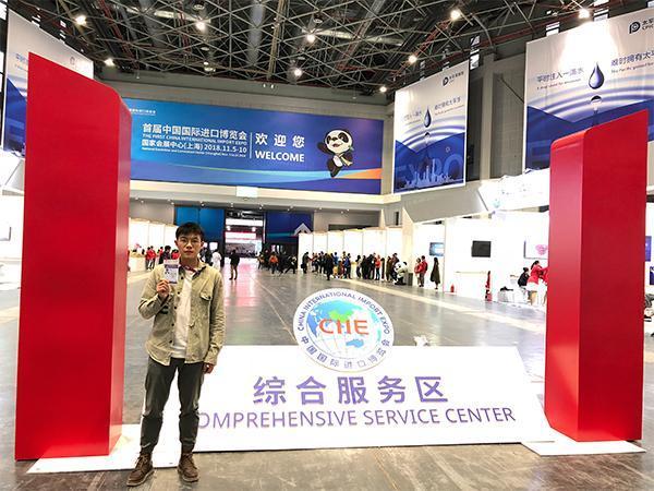 走近小叶子|这29名志愿者来自苏浙皖,进博会开幕当天上岗