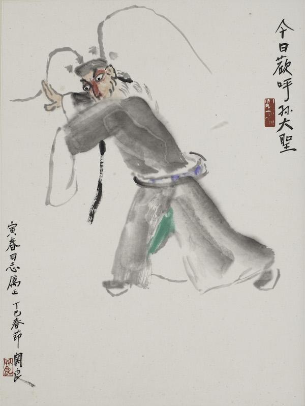 """""""海上有戏"""",在朱屺瞻艺术馆看戏曲人物画名家作品"""