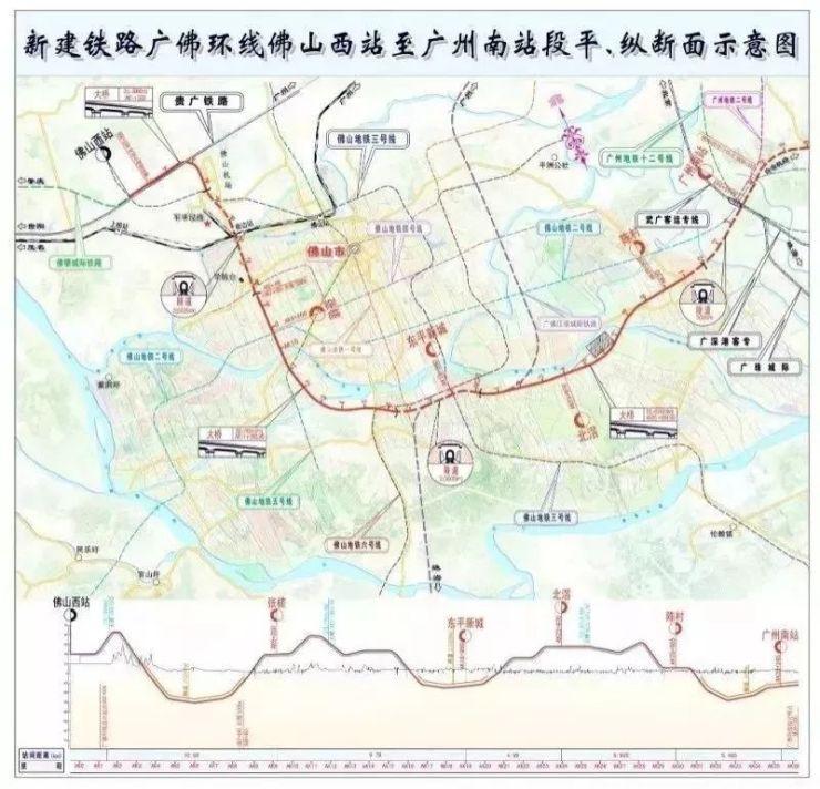 嗨森!2年后的广州再多5条城轨!串联深圳、东莞、清远、佛山