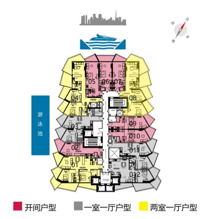 千禧港 | 迪拜市中心高端酒店公寓 :首付2成,总价170万人民币起,拎包入住!
