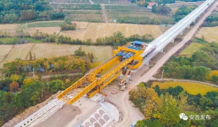 重要进展!商合杭高铁(安吉段)线下工程结束,预计2020年可建成通车!
