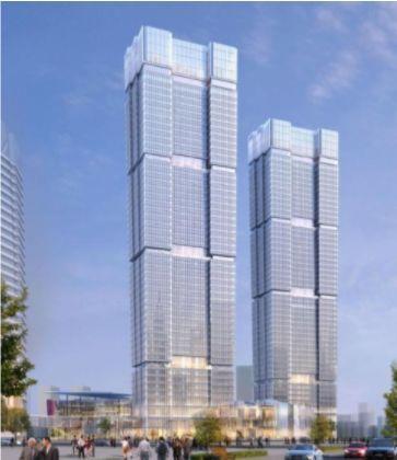 """上港集团拟出售""""上海最高双子楼"""" 不低于127.86亿元"""