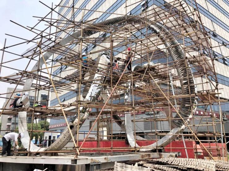 上海 | 全新数字互动雕塑惊艳