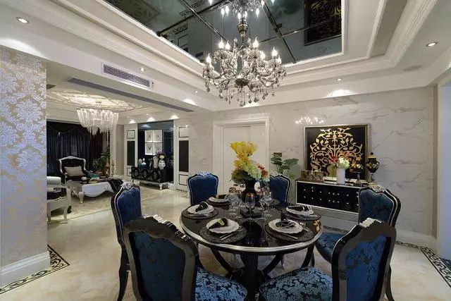 芜湖60W打造290平米欧式奢华婚房