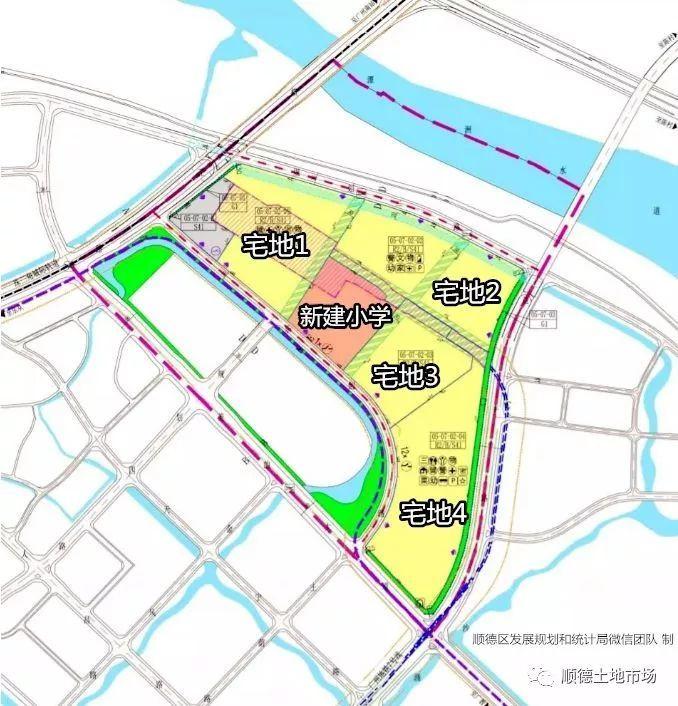 北滘新城将再添一座TOD!新增4宗宅地+1所小学