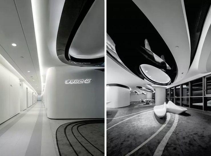 国城建筑——凌空SOHO办公空间设计