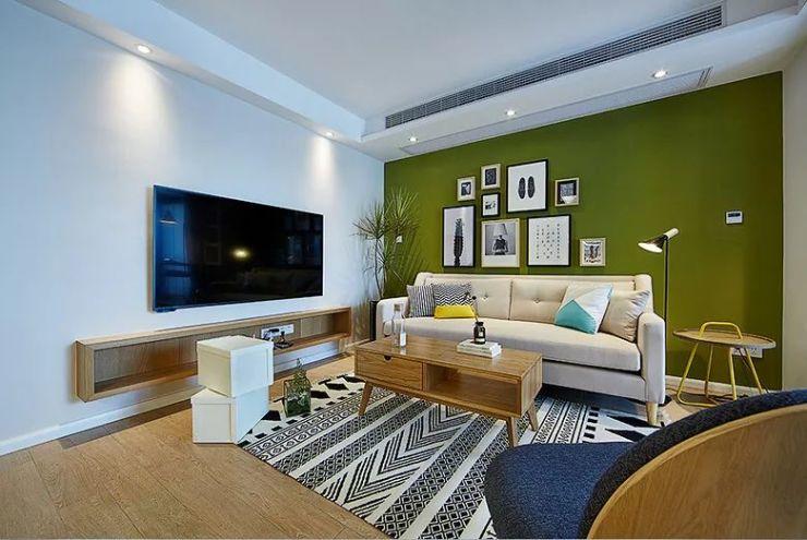 119㎡自然北欧,电视墙不对沙发墙,住得舒服才叫漂亮|装修小常识-辽宁林凤装饰装修工程有限公司抚顺分公司