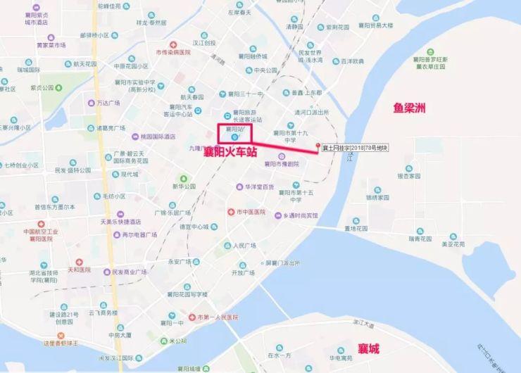 襄阳火车站附近终于要诞生新楼盘!起拍价660万元/亩!