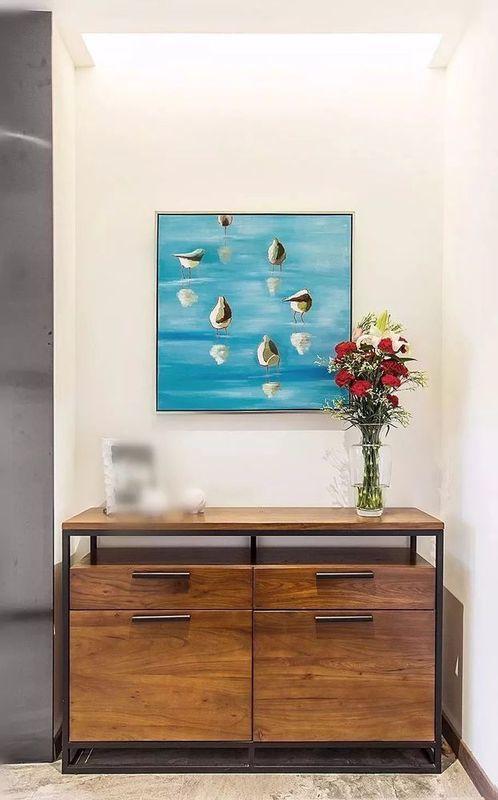 东方蓝海150㎡现代简约,这样的设计没见过!